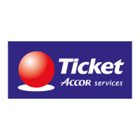 Ticket Accor Service vector logo