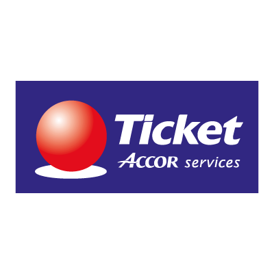 Ticket Accor Service logo vector