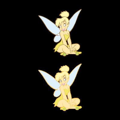 Tinkerbell Disney logo vector