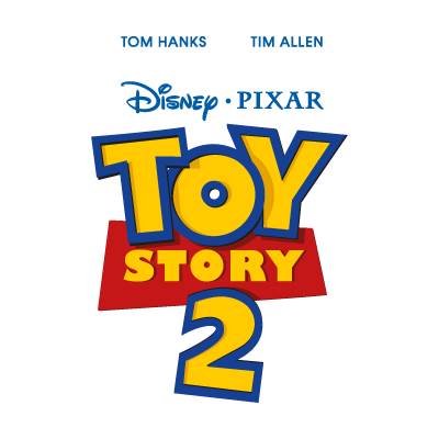 Toy Story 2 logo vector