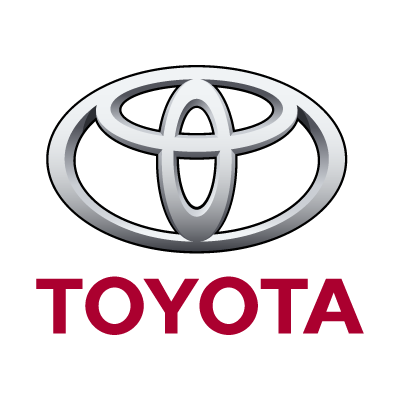 Toyota auto logo vector