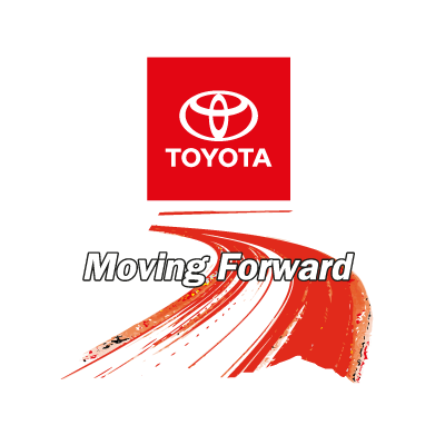 Toyota Moving Foward logo vector