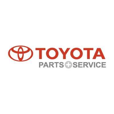 Toyota Parts & Service logo vector