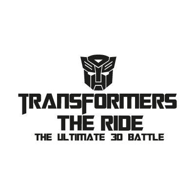 Transformers The Ride logo vector