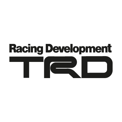 TRD black logo vector