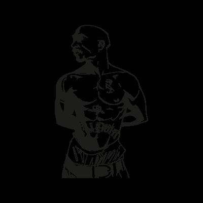 Tupac Shakur logo vector