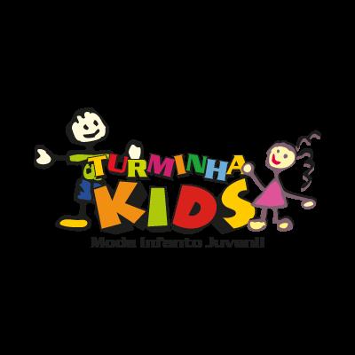 Turminha kids logo vector