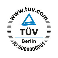 TUV Berlin vector logo