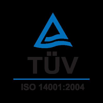 TUV ISO 14001:2004 logo vector