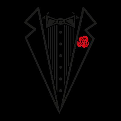 Tuxedo Shirt logo vector
