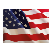 Flag of US (.EPS) vector logo