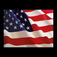 Flag of US (.EPS) vector logo