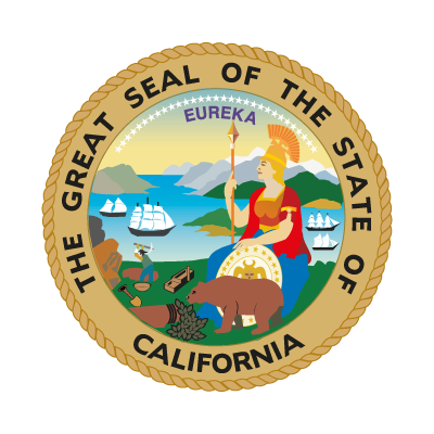 Seal of California logo vector