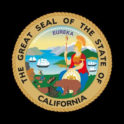 Seal of California logo vector