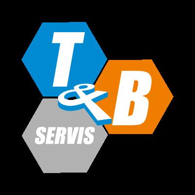 T & B logo vector
