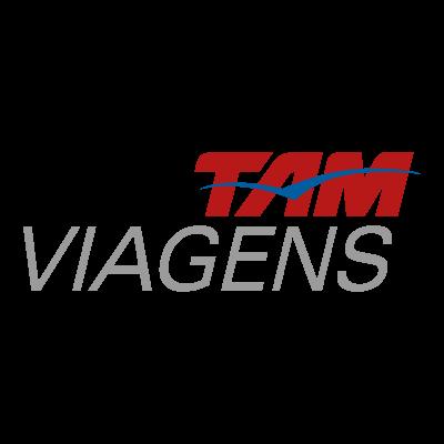 Tam viagens logo vector