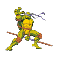 Teenage Mutant Ninja Turtles (movies) vector