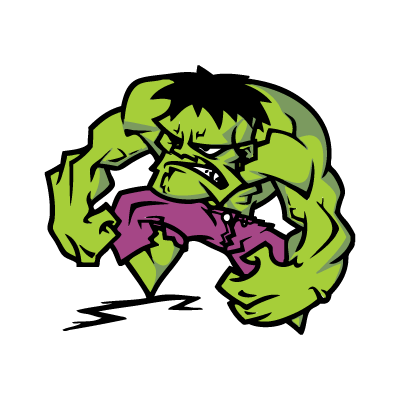 The Hulk logo vector
