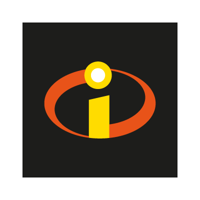 The Incredibles (movies) logo vector