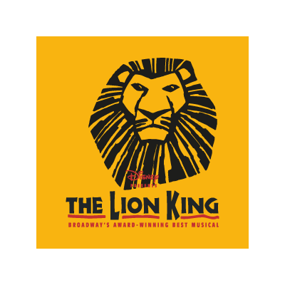 The Lion King logo vector