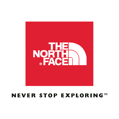 The North Face (Red) logo vector