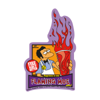 The Simpsons Flaming Moe vector