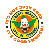 The Simpsons (Krusty Brand) vector logo