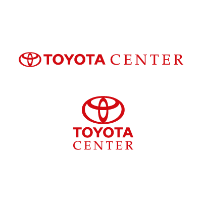 Toyota Center logo vector