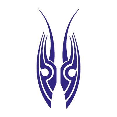 Tribal (arts) logo vector
