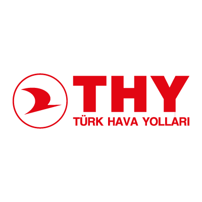 Turkish Airlines (THY) vector logo