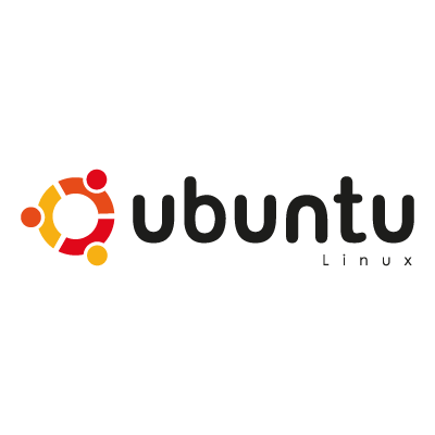 Ubuntu Linux L logo vector