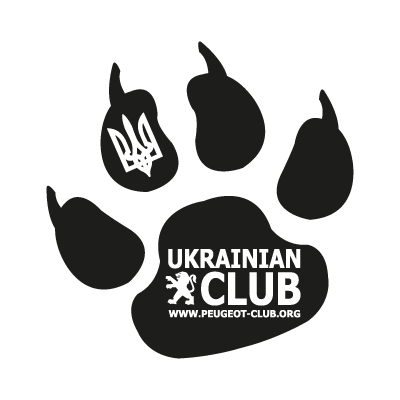 Ukrauian peugeot club logo vector