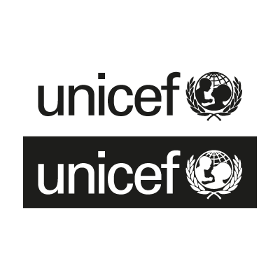 Unicef Black logo vector
