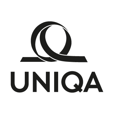 Uniqa Black logo vector