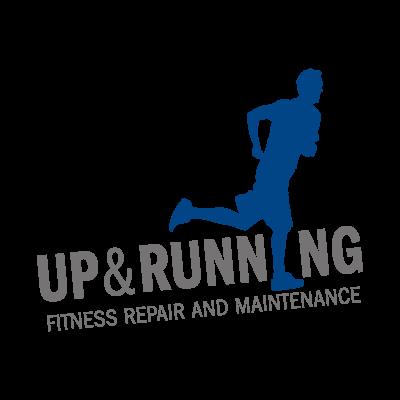 Up & Running logo vector