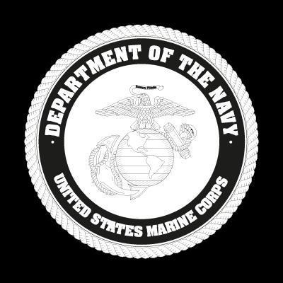 US Marine Corp Black logo vector