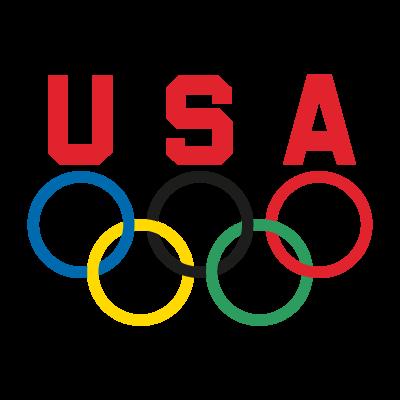 USA Olympic Team logo vector