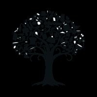 V&D vector logo
