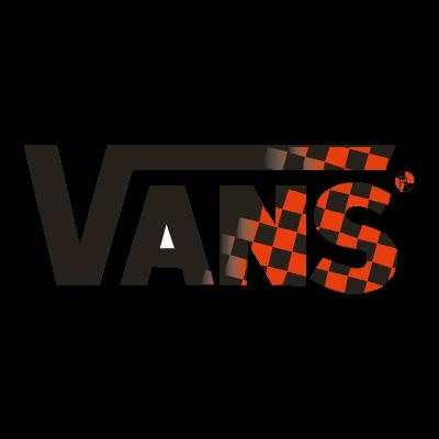 Vans red scuares vector logo