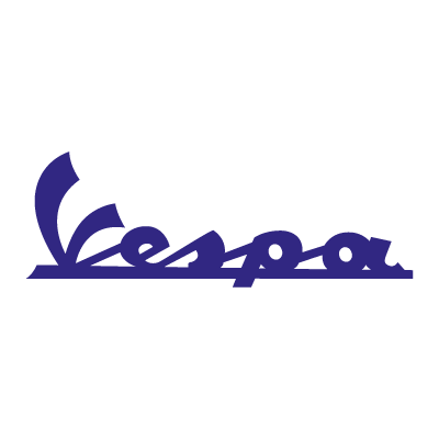 Vespa Moto logo vector