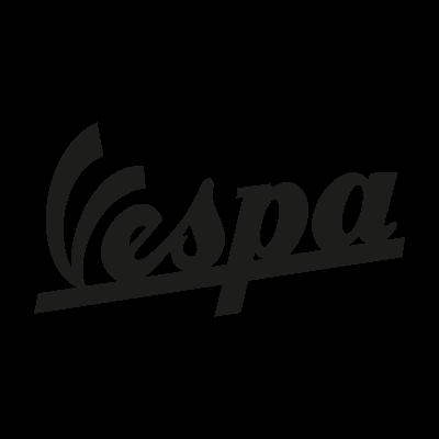 Vespa Motorcycle logo vector