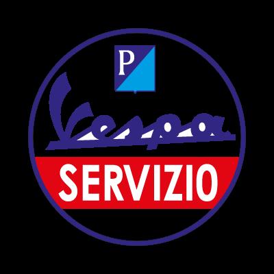 Vespa Servizio logo vector