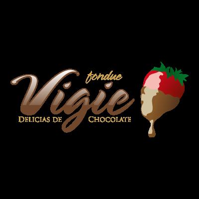 Vigie Fondue logo vector