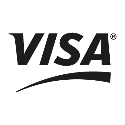 VISA Black logo vector