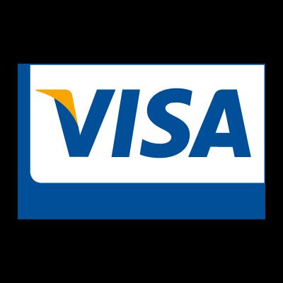 Visa Card logo vector