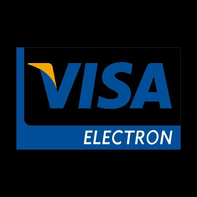 Visa electron new logo vector