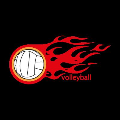 Volleyball vector logo