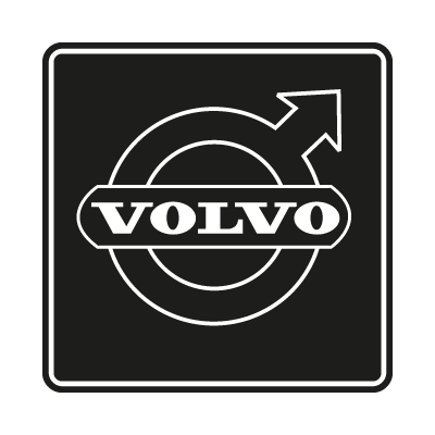 Volvo Black logo vector