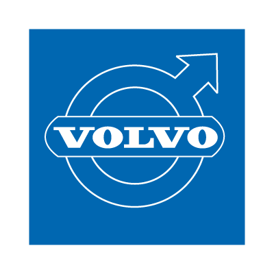 Volvo (Blue) logo vector