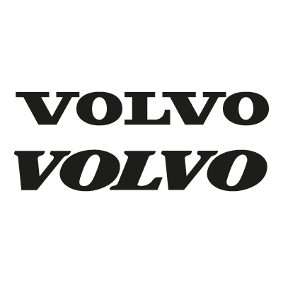 Volvo (Text) logo vector